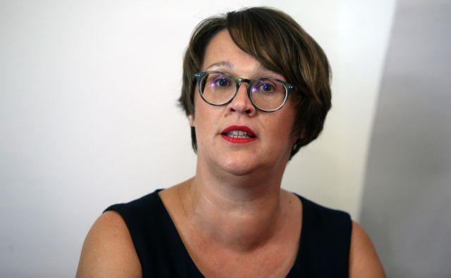Lidija Divjak Mirnik, kandidatka LM� za �upanjo Maribora, 22.8.2018, Maribor [lidija divjak mirnik] Foto Tadej Regent/delo