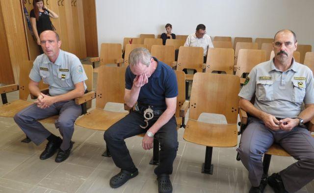 Štefan Juvan na sodišču v Slovenj Gradec. FOTO: Mateja Kotnik