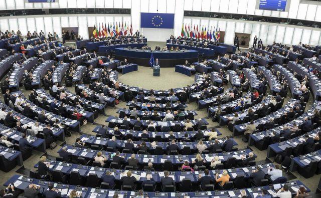 Jean-Claude Juncker med današnjim nagovorom FOTO: AP
