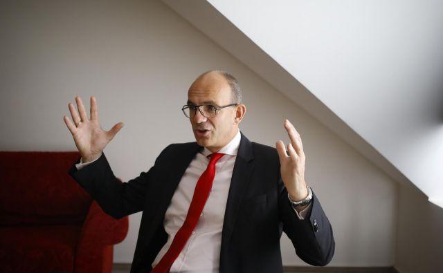 Christian Ketels je eden najplivnejših svetovnih ekonomistov.  Foto Jože Suhadolnik