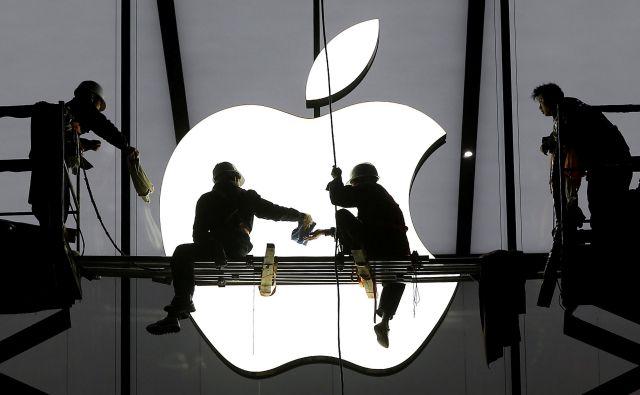 Apple je eden najbolj prepričljivih argumentov vodstva v Pekingu, da se je treba za vsako ceno izogniti trgovinski vojni. Foto Reuters