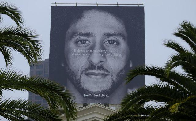 Za nekatere sporni oglas podjetja Nike. FOTO: Eric Risberg/AP