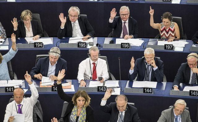 Evropski parlament glasuje o stanju na Madžarskem Foto AP