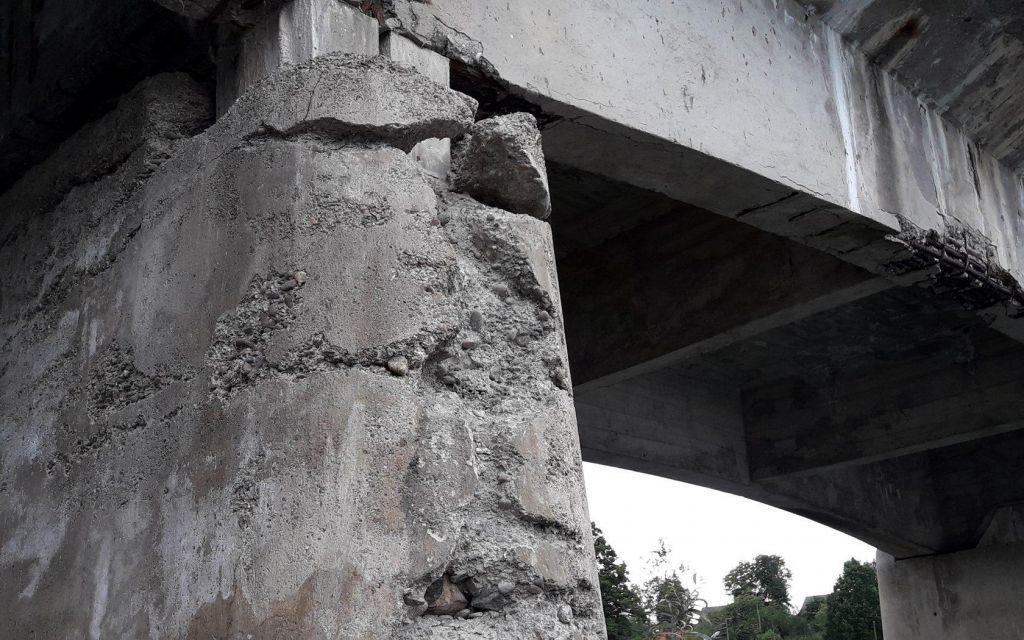 FOTO:Tudi v Sloveniji razpadajo mostovi