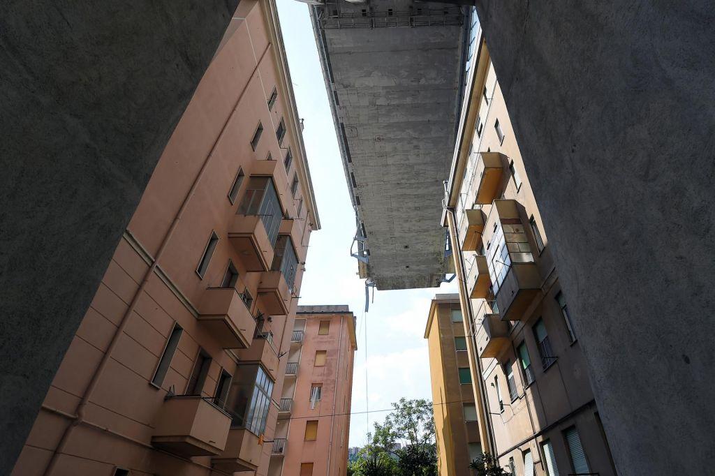 Obnova viadukta v Genovi bo državni projekt