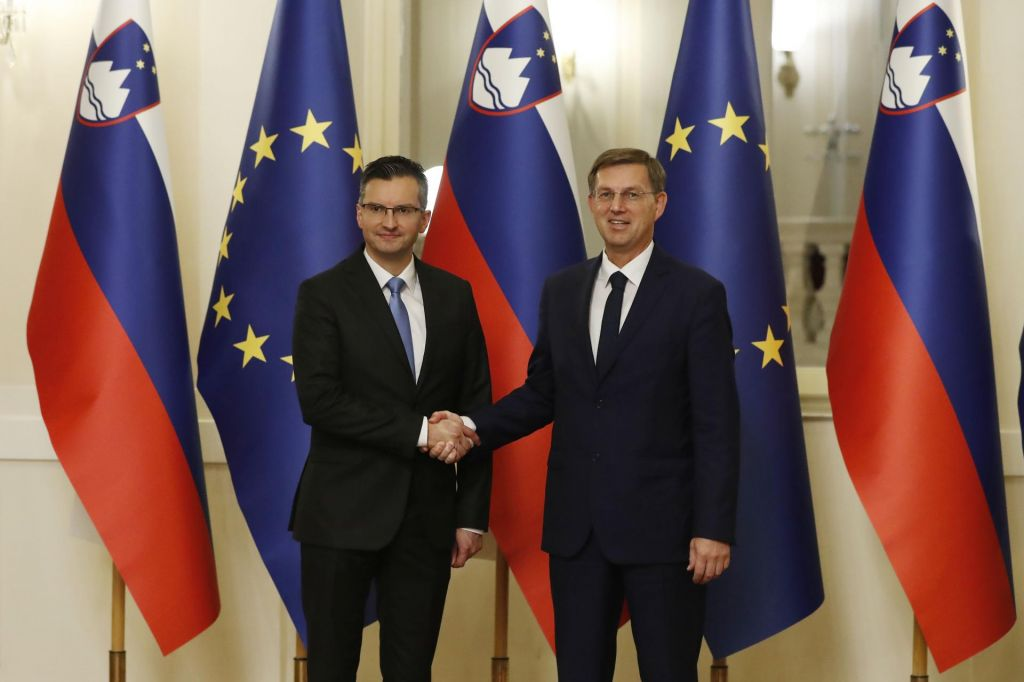 FOTO:Slovenija dobila novo vlado, Cerar že predal posle