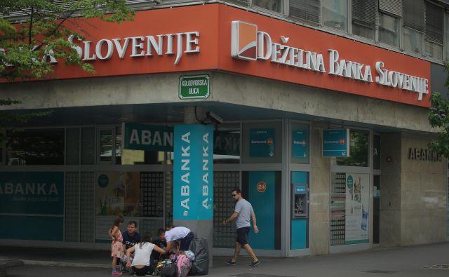 Deželno Banko Slovenije pretresajo spori njenih lastnikov, spopad se preveša v svojo finanlno fazo. FOTO: Jože Suhadolnik
