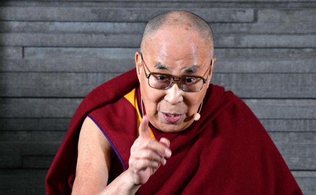 Dalajlama je že prej govoril o beguncih v Evropi. Pred dvema letoma je izjavil, da nemčija »ne more postati arabska država, ker je Nemčija Nemčija«. FOTO: AFP