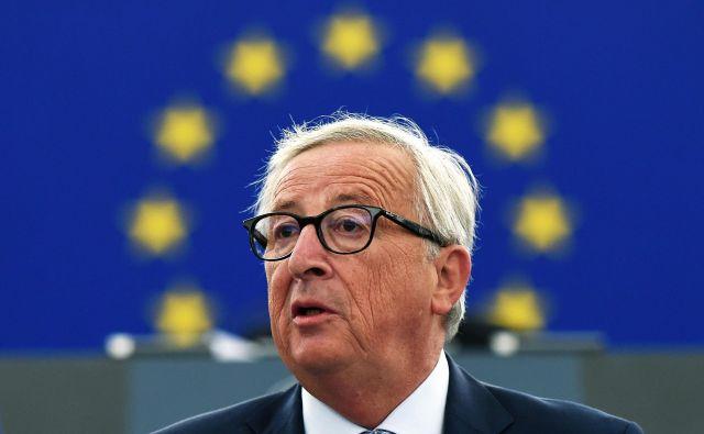 Predsednik evropske komisije Jean-Claude Juncker FOTO: Frederick Florin/AFP