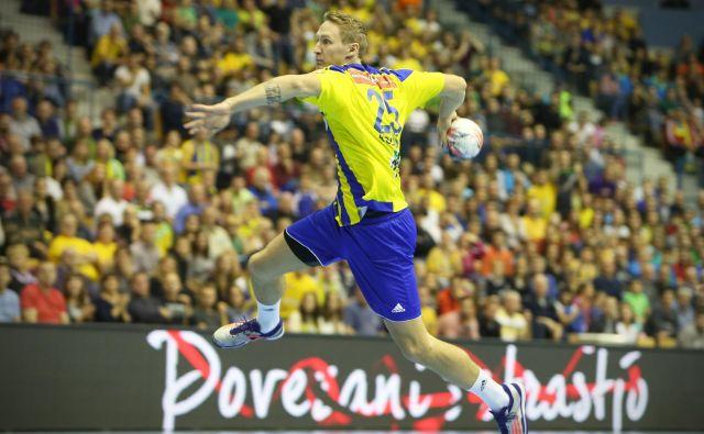 Tilen Kodrin začenja peto sezono v ligi prvakov, v kateri je nazadnje dosegel 30 golov. FOTO: Jure Eržen