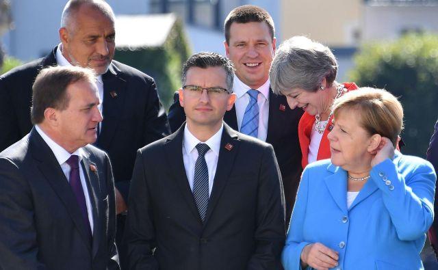 Marjan Šarec je v Salzburgu prestal krst na evropskem političnem parketu. FOTO: AFP