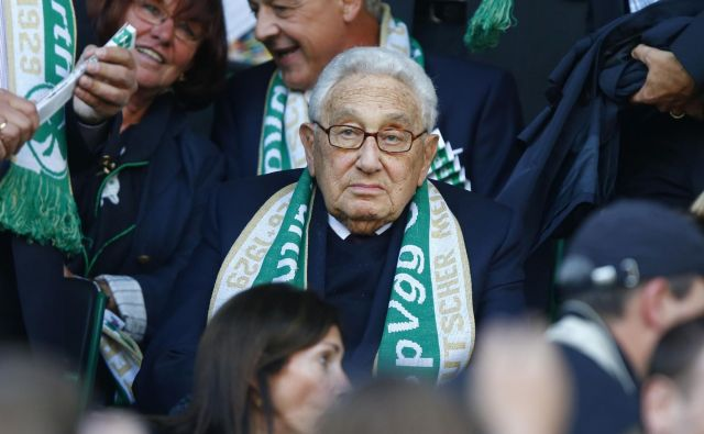 Henry Kissinger, navijač SpVgg Greuther Fürth. FOTO Reuters
