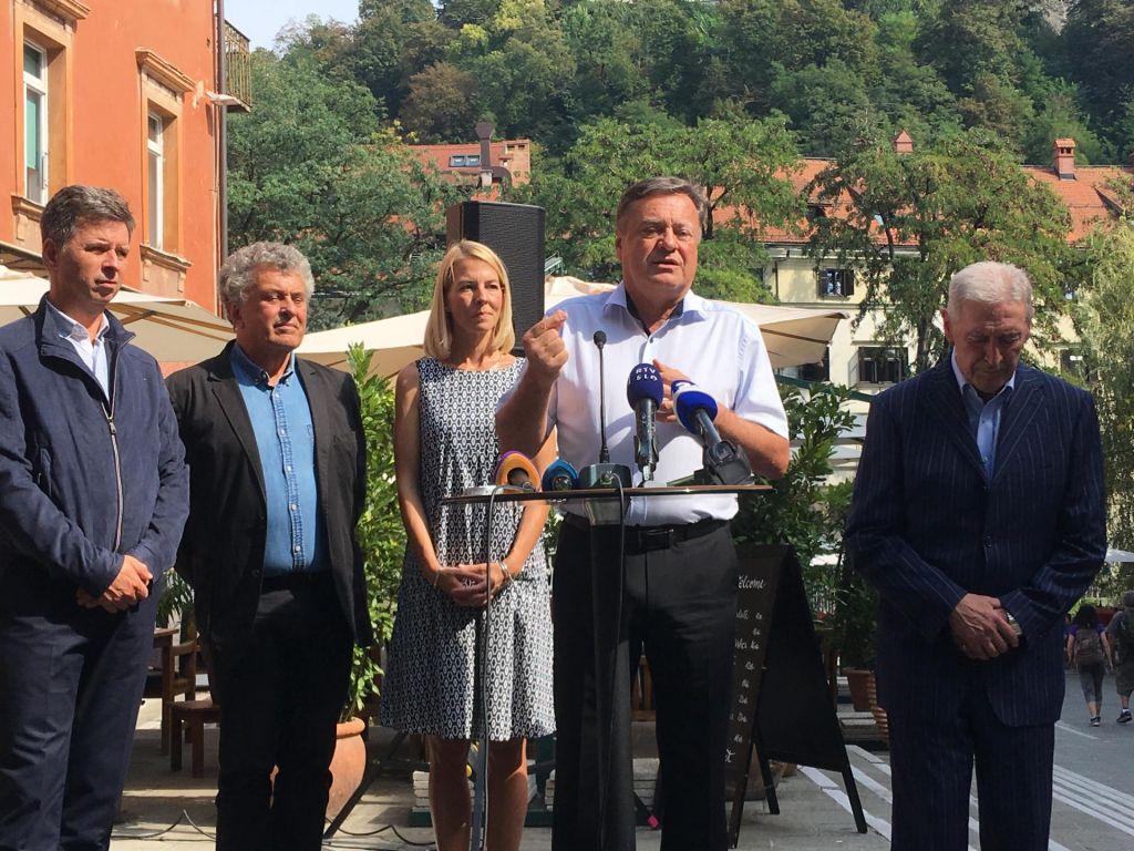 FOTO:Zoran Janković znova v tekmo za župansko mesto