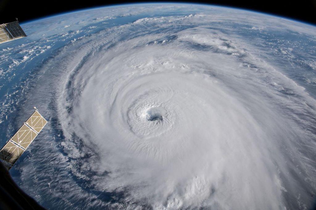 Orkani, supertajfuni in podnebne spremembe