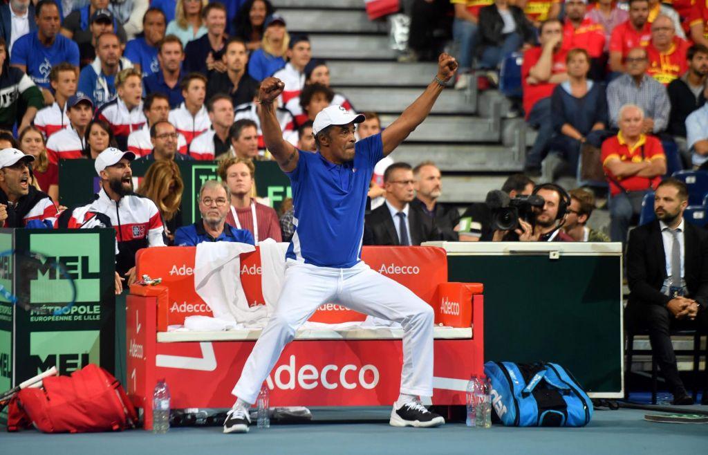 Francija prva v finalu Davisovega pokala