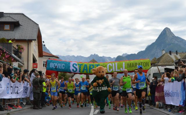 Bovec maraton je bil prvi rekreativni maraton v Sloveniji. Foto Bovec Maraton