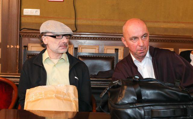 Michel Stephan in njegov zagovornik Gorazd Fišer. FOTO: Marko Feist
