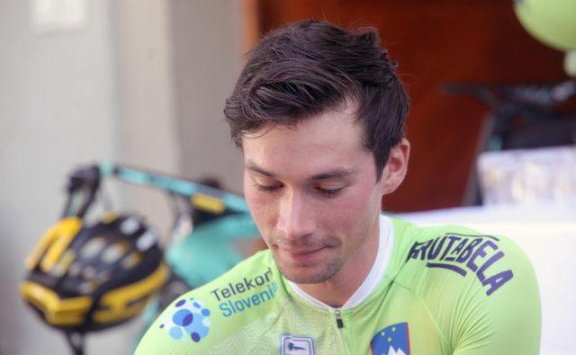 Primoža Rogliča čakajo še zadnje priprave pred dirko v Innsbrucku. FOTO: Mavric Pivk/Delo