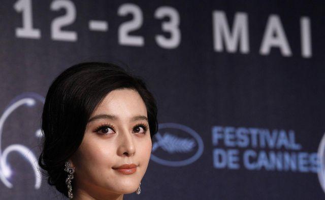 Domnevne težave igralke so se začele, ko se je na kitajskih družbenih omrežjih maja letos pojavila njena pogodba za film. FOTO: Reuters