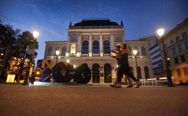 Mineva stoletnica osrednje galerijske in muzejske ustanove v Sloveniji. FOTO:Leon Vidic/delo