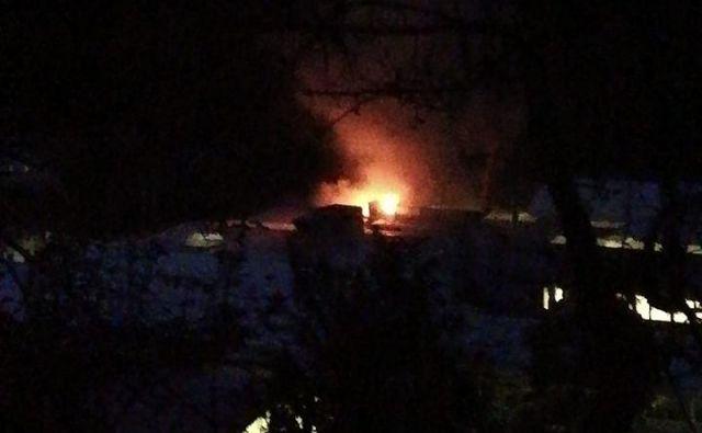 Vzrok požara v livarni še ni znan. FOTO: Jožica Kosmač Per