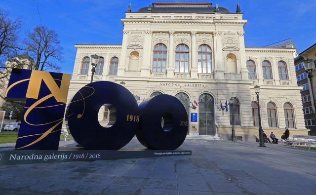 Narodna galerija v Ljubljani praznuje 100 let svojega obstoja. FOTO: Tomi Lombar/Delo