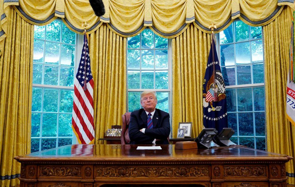 Okna v Trumpovo dušo
