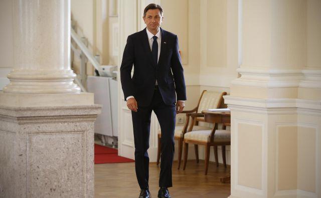 Predsednik Borut Pahor je objavo mnenja EK ocenil za pomemben vzvod Slovenije pri krepitvi podpore. FOTO: Jože Suhadolnik