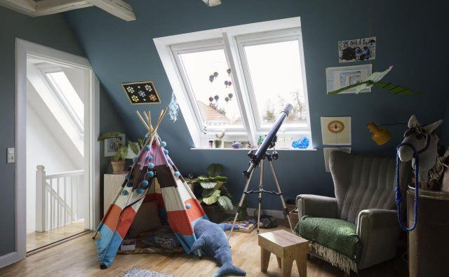 Podstrešje – kakšen vznemirljiv prostor, ki nam je buril domišljijo že kot otrokom! Foto: Velux