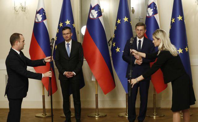 Nova vlada pomeni zunanjepolitični pomik k atlanticizmu. FOTO: Leon Vidic/delo