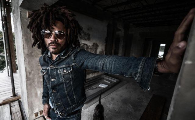 Lenny Kravitz, ameriški multiinštrumentalni glasbenik.FOTO: Mathieu Bitton