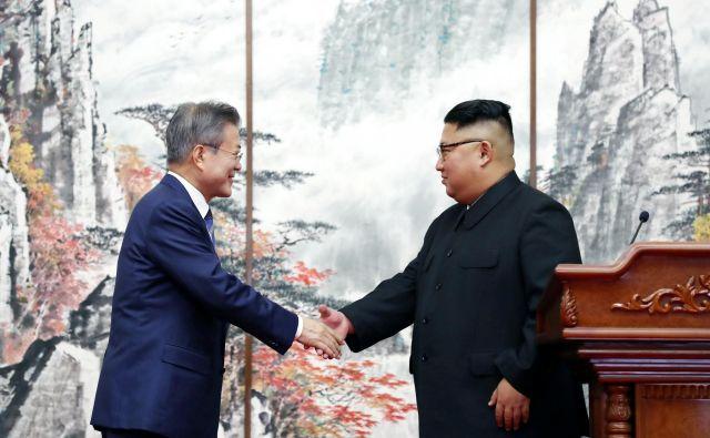 Mun Dže In opravlja občutljivo nalogo pomembnega posrednika med Kim Džong Unom in Donaldom Trumpom. FOTO: Reuters
