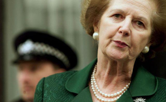 Trideset let po govoru Margaret Thatcher v Bruggeju so njene besede še vedno navdih za britanske kritike evropskega projekta. FOTO: Reuters