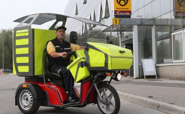 V Evropi bo eden ključnih dejavnikov racionalizacije pošt, da vas bodo poštarji obiskali manjkrat, pričakujejo v Pošti Slovenije. Foto Tomi Lombar