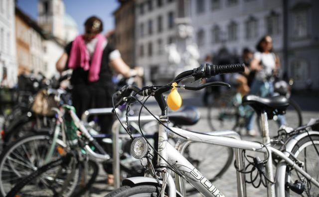 Največ pozornosti so v tednu mobilnosti dobili kolesarji. FOTO: Uroš Hočevar/Delo