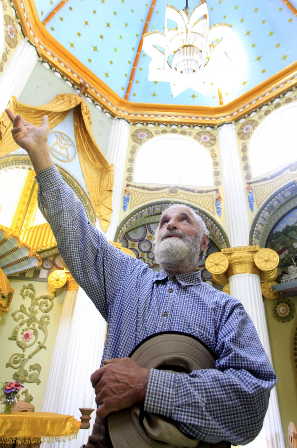 FOTO:Dvanajst let in veliko modrosti za kapelo sv. Modrosti
