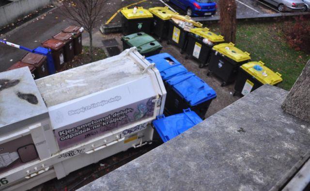 To ni mesto za deponijo, pravijo stanovalci.