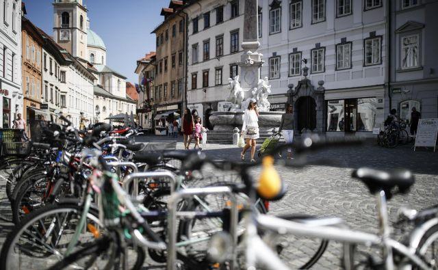Teden mobilnosti v znamenju kolesarjenja in pešačenja<br /> FOTO Uroš Hočevar