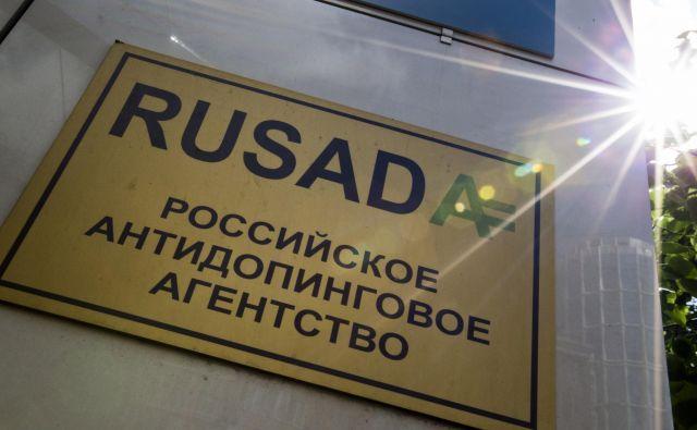 RUSADA bo spet lahko nemoteno opravljala svoje delo. FOTO: Aleksandr Zemljaničenko/AP
