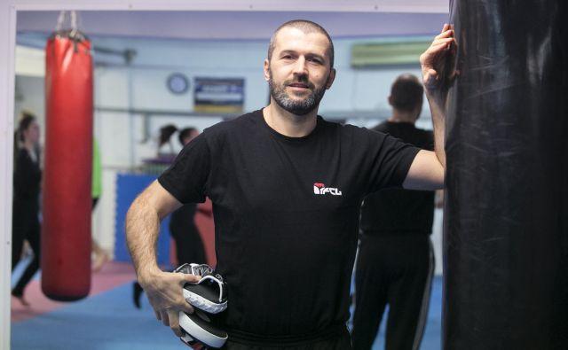 Sašo Weixker, trener boksa in gonilo plemenite veščine v Ljubljani. FOTO: Tina Ramujkić