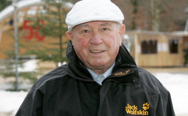 Hans Ostler je bil eden najbolj zaslužnih, da se je<em>»Vierschanzentournee«</em> razvila v eno izmed svetovno najodmevnejših zimskošportnih prireditev. FOTO:Brigitte Waltl-Jensen/Vierschanzentournee