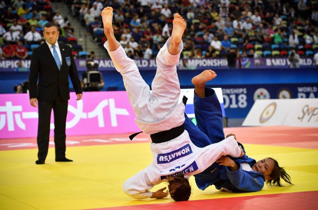 Vsaka je premagljiva, tudi olimpijska prvakinja!