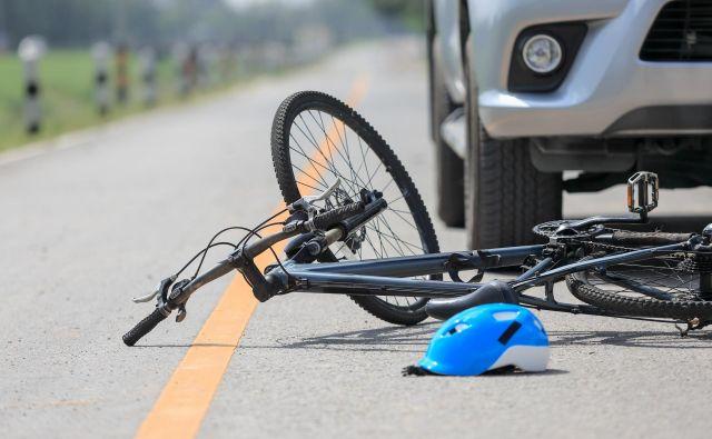 Kolesarja so odpeljali v celjsko bolnišnico, kjer je zaradi hudih poškodb umrl. FOTO: Getty Images