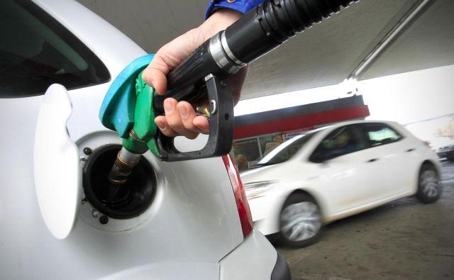 Na dvig cen pogonskih goriv nakazujejo nekoliko višje cene surove nafte na svetovnih trgih in spremembe cen goriv v soseščini, kjer se cene hitreje prilagajajo. FOTO: Leon Vidic