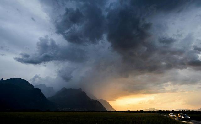 V prihodnjih dneh bo znova več sonca, a bodo temperature le malenkost preselge dvajset stopinj Celzija. FOTO: AFP