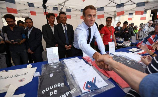 Javnost je bila ogorčena nad pokroviteljstvom Emmanuela Macrona. FOTO:Reuters
