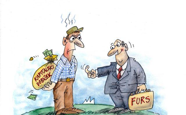 Verjetno se bo današnja razprava sprevrgla prav v nasprotje tistega, kar je gospodarstvo z opozorili glede davkov želelo doseči. KARIKATURA: Marko Kočevar