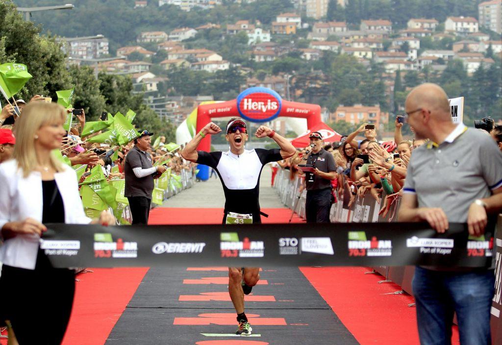 FOTO:Ironman: Ko se utrudiš, teci s srcem! Moje bije zate