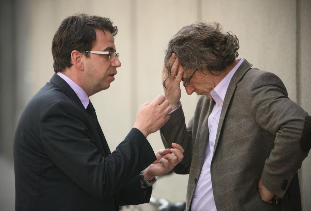 FOTO:Pogačar proti Štruklju, kdo bo izvlekel več?