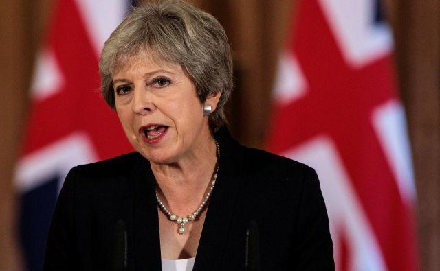 Bo premierka Theresa May v parlamentu dobila zadostno podporo za dogovor o brexitu? FOTO: Reuters